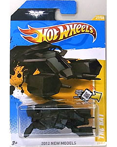 MATTEL HOT WHEELS 1/64スケール 2012 FE 映画版 THE DARK KNIGHT RISES THE BAT