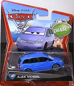 MATTEL CARS2 シングル CHASE ALEX VANDEL