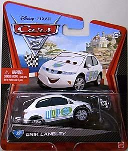MATTEL CARS2 シングル ERIK LANELEY