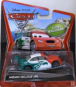 MATTEL CARS2 シングル SUPER CHASE MEMO ROJAS JR.