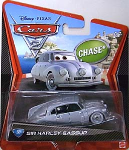MATTEL CARS2 シングル CHASE SIR HARLEY GASSUP