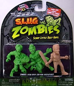 JAKKS PACIFIC S.L.U.G. ZOMBIES SERIES 3 3PACK [EXTRA CRISPY, ZERO HERO, RILED-UP RILEY]