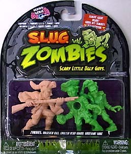 JAKKS PACIFIC S.L.U.G. ZOMBIES SERIES 4 3PACK [BUCKSKIN BILL, ENGLISH DEAD GUARD, GRUESOME GABE]