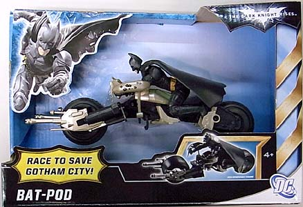MATTEL 映画版 THE DARK KNIGHT RISES BAT-POD