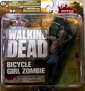 McFARLANE TOYS THE WALKING DEAD TV 5インチアクションフィギュア SERIES 2 BICYCLE GIRL ZOMBIE
