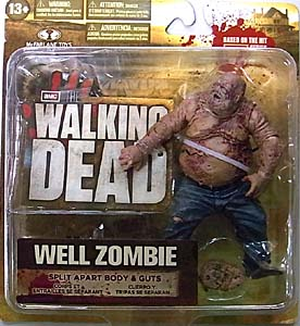 McFARLANE TOYS THE WALKING DEAD TV 5インチアクションフィギュア SERIES 2 WELL ZOMBIE