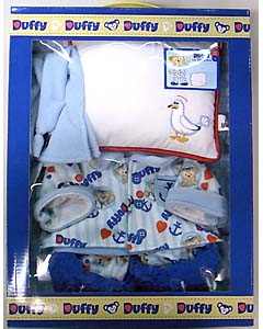 DISNEY USAディズニーテーマパーク限定 DUFFY THE DISNEY BEAR COSTUME PAJAMA BOX SET