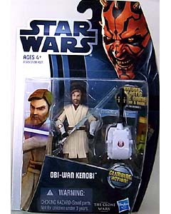 HASBRO STAR WARS THE CLONE WARS 2012 BASIC FIGURE OBI-WAN KENOBI CW12
