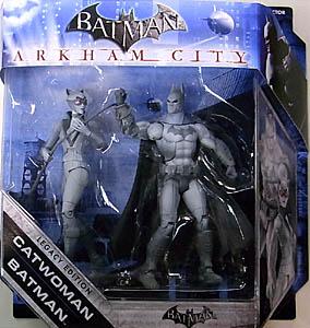 MATTEL BATMAN LEGACY 2PACK SERIES 3 VARIANT ARKHAM CITY BATMAN & CATWOMAN