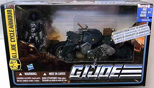 HASBRO G.I.JOE THE PURSUIT OF COBRA ビークル G.I.JOE CYCLE ARMOUR WITH ASHIKO