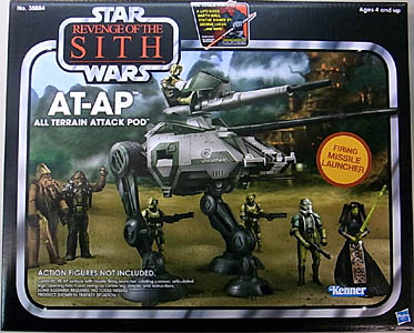 HASBRO STAR WARS 2012 THE VINTAGE COLLECTION VEHICLE AT-AP [REVENGE OF THE SITH]
