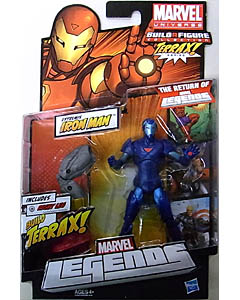 HASBRO MARVEL LEGENDS 2012 SERIES 1 TERRAX SERIES VARIANT EXTREMIS IRON MAN 台紙傷み特価