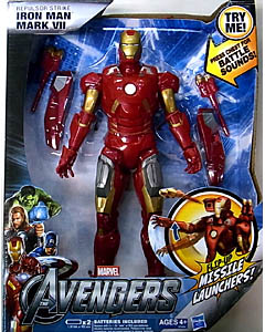 HASBRO 映画版 THE AVENGERS 10インチ REPULSOR STRIKE IRON MAN MARK VII
