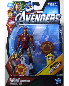 HASBRO 映画版 THE AVENGERS 3.75インチ MOVIE SERIES IRON MAN FUSION ARMOR MARK VII