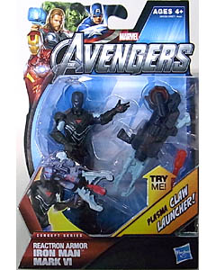 HASBRO 映画版 THE AVENGERS 3.75インチ CONCEPT SERIES REACTRON ARMOR IRON MAN MARK VI