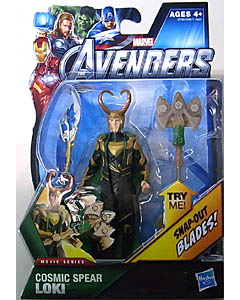 HASBRO 映画版 THE AVENGERS 3.75インチ MOVIE SERIES COSMIC SPEAR LOKI