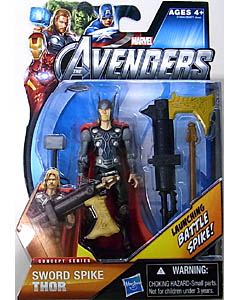 HASBRO 映画版 THE AVENGERS 3.75インチ CONCEPT SERIES SWORD SPIKE THOR