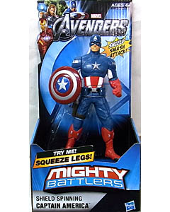 HASBRO 映画版 THE AVENGERS MIGHTY BATTLERS SHIELD SPINNING CAPTAIN AMERICA