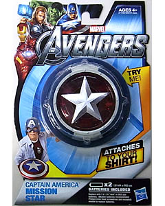 HASBRO 映画版 THE AVENGERS CAPTAIN AMERICA MISSION STAR