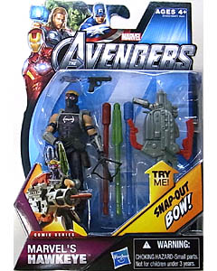 HASBRO 映画版 THE AVENGERS 3.75インチ COMIC SERIES MARVEL'S HAWKEYE