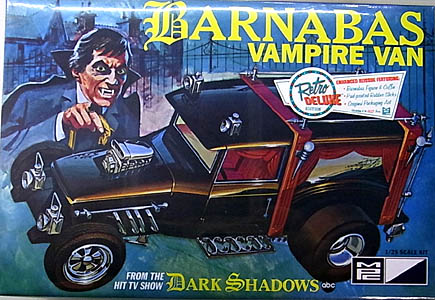 MPC 1/25スケール BARNABAS VAMPIRE VAN FROM DARK SHADOWS 組み立て式プラモデル