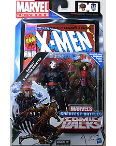 HASBRO MARVEL UNIVERSE COMIC PACKS X-MEN GAMBIT & MISTER SINISTER