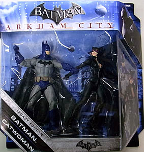 MATTEL BATMAN LEGACY 2PACK SERIES 3 ARKHAM CITY BATMAN & CATWOMAN