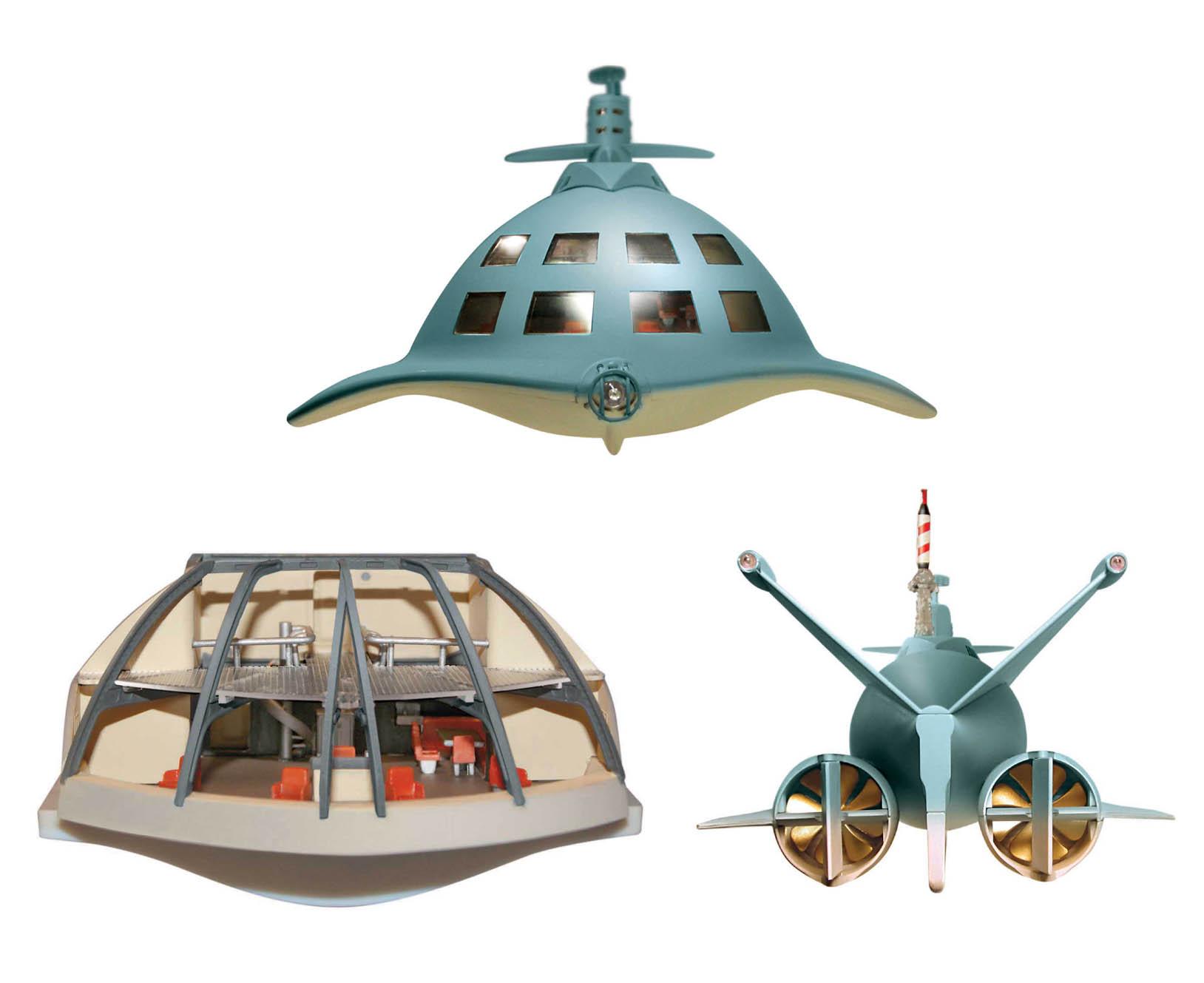 メビウスモデル 1/128スケール 映画版 原子力潜水艦シービュー号 組み立て式プラモデル