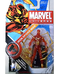 HASBRO MARVEL UNIVERSE SERIES 2 #021 VARIANT IRON SPIDER-MAN