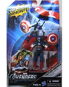 HASBRO 映画版 THE AVENGERS 3.75インチ COMIC SERIES CAPTAIN AMERICA AERIAL INFILTRATION MISSION
