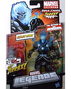 HASBRO MARVEL LEGENDS 2012 SERIES 1 TERRAX SERIES GHOST RIDER