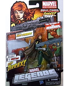 HASBRO MARVEL LEGENDS 2012 SERIES 1 TERRAX SERIES X-MEN'S HOPE SUMMERS
