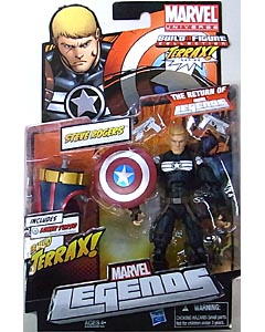 HASBRO MARVEL LEGENDS 2012 SERIES 1 TERRAX SERIES STEVE ROGERS 台紙傷み特価