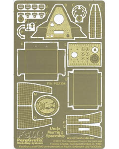 PARAGRAFIX PEGASUS HOBBIES 1/18スケール ブラボー火星人 マーティンおじさん&宇宙船用 エッチングパーツ / PGX154