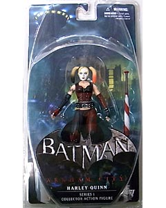 DC DIRECT BATMAN: ARKHAM CITY SERIES 1 HARLEY QUINN ブリスターワレ特価