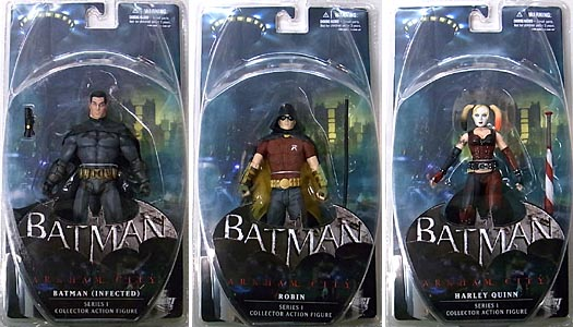 DC DIRECT BATMAN: ARKHAM CITY SERIES 1 3種セット