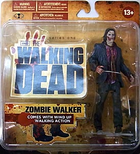 McFARLANE TOYS THE WALKING DEAD TV 5インチアクションフィギュア SERIES 1 ZOMBIE WALKER