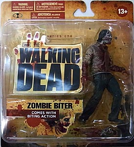 McFARLANE TOYS THE WALKING DEAD TV 5インチアクションフィギュア SERIES 1 ZOMBIE BITER