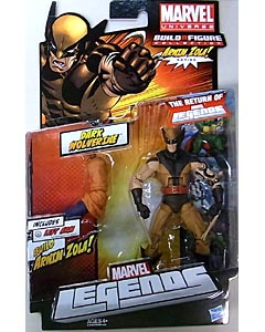 HASBRO MARVEL LEGENDS 2012 SERIES 2 ARNIM ZOLA SERIES DARK WOLVERINE [MASKED] 台紙傷み特価