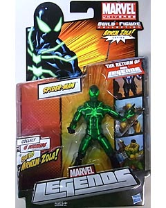 HASBRO MARVEL LEGENDS 2012 SERIES 2 ARNIM ZOLA SERIES SPIDER-MAN BIG TIME SPIDER-MAN 台紙傷み特価