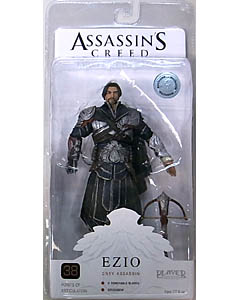 NECA PLAYER SELECT USA TOYSRUS限定 ASSASSIN'S CREED BROTHERHOOD EZIO [ONYX COSTUME UNHOODED]
