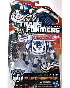 HASBRO TRANSFORMERS GENERATIONS FALL OF CYBERTRON DELUXE CLASS AUTOBOT JAZZ