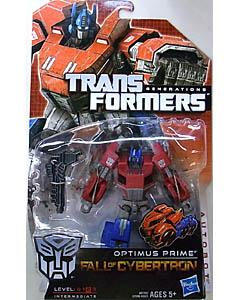 HASBRO TRANSFORMERS GENERATIONS FALL OF CYBERTRON DELUXE CLASS OPTIMUS PRIME