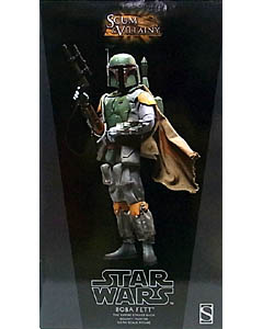 SIDESHOW 12インチ STAR WARS SCUM & VILLAINY OF STAR WARS BOBA FETT