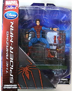 DIAMOND SELECT MARVEL SELECT USAディズニーストア限定 映画版 THE AMAZING SPIDER-MAN SPIDER-MAN [UNMASKED]