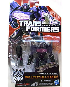 HASBRO TRANSFORMERS GENERATIONS FALL OF CYBERTRON DELUXE CLASS SHOCKWAVE