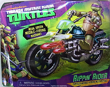 PLAYMATES NICKELODEON TEENAGE MUTANT NINJA TURTLES VEHICLE RIPPIN' RIDER