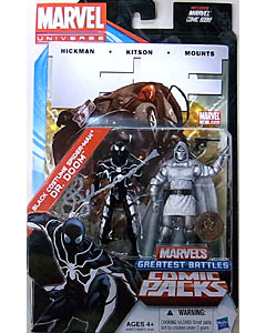 HASBRO MARVEL UNIVERSE USA TOYSRUS限定 COMIC PACKS BLACK COSTUME SPIDER-MAN & DR.DOOM 台紙傷み特価