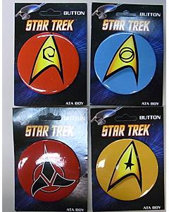 その他・海外メーカー STAR TREK 缶バッジセット ラージ