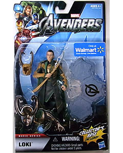 HASBRO 映画版 THE AVENGERS USA WALMART限定 6インチ MOVIE SERIES LOKI